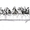 The Last Supper by Ranjith Kp