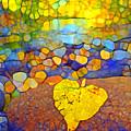 The Leaf At The Creek by Tara Turner