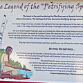 The Legend Of The Petrifying Springs by Kay Novy
