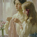 The Lesson by William Kay Blacklock