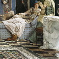 The Letter From An Absent One by Sir Lawrence Alma-Tadema