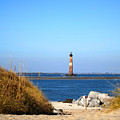 The Lighhouse At Morris Island Charleston by Susanne Van Hulst