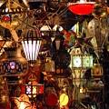 The Light Shop Marrakesh by Brian Raggatt