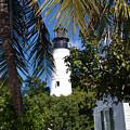 The Lighthouse In Key West II by Susanne Van Hulst