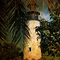 The Lighthouse In Key West by Susanne Van Hulst