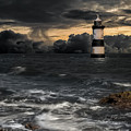The Lighthouse Storm by Adrian Evans