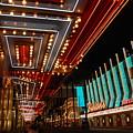 The Lights Are On In Las Vegas by Susanne Van Hulst