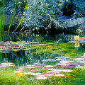 The Lily Pond I by Lynn Andrews