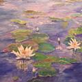 The Lily Pond by Sandra Golkowski