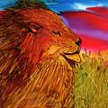 The Lion King Of Massai Mara by Eunice Warfel
