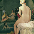The Little Bather In The Harem by Jean Auguste Dominique Ingres
