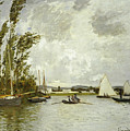 The Little Branch Of The Seine At Argenteuil by Claude Monet