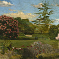 The Little Gardener by Frederic Bazille
