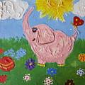 Little Pink Elephant by Rita Fetisov
