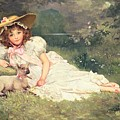 The Little Shepherdess by Arthur Dampier May