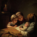 The Little Sleeping Brother by Johann Georg Meyer von Bremen