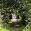 The Little Wooden Bridge by Veron Miller