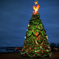 The Lobster Trap Christmas Tree by Rick Berk