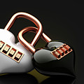 The Lock Code Puzzle Heart. by Dollatum Hanrud