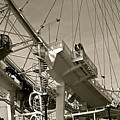 The London Eye In Sepia by Venetia Featherstone-Witty