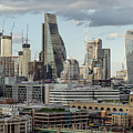 The London Skyline by Perry Rodriguez