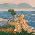 The Lone Cypress Tree by Aimee Mouw