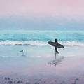 The Lone Surfer 2 by Jan Matson