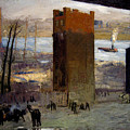 The Lone Tenement by George Bellows
