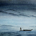The Lonely Boat Man by Asha Sudhaker Shenoy