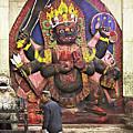 The Lord Of Time - Kala Bhairava by Gabriele Pomykaj