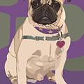 The Love Pug by Kris Hackleman