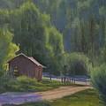 The Lower Corral - Rock Creek by Joe Mancuso