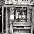 The Luckenbach Post Office by JC Findley