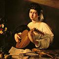 The Lute Player by Michelangelo Merisi da Caravaggio
