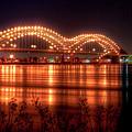 The M Bridge Memphis Tennessee Bridge Art by Reid Callaway
