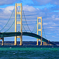 The Mackinac Bridge by Michael Rucker
