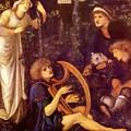 The Madness Of Sir Tristram by BurneJones Edward