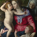 The Madonna And Child With Saints by PixBreak Art