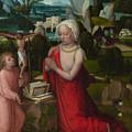 The Magdalen In A Landscape by PixBreak Art