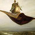The Magic Carpet by Apollinari Mikhailovich Vasnetsov