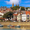 The Magic Of St. Peter Port In Guernsey by Mitchell R Grosky