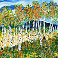 The Magical Aspen Forest by Christy Woodland