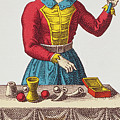 The Magician Tarot Card by French School