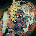The Maiden by Gustav Klimt