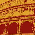 The Majestic Colosseum Of Rome by Andrea Mazzocchetti
