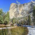 The Majestic El Capitan Yosemite National Park by Wayne Moran