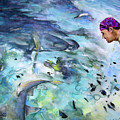 The Man And The Sharks by Miki De Goodaboom