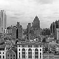 The Manhattan Skyline by Underwood Archives