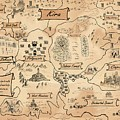 The Map Of The Enchanted Kira by Reynold Jay