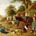 The Market Cart by Henry Charles Bryant